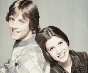 star wars, carrie fisher, and mark hamill image
