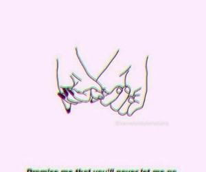 aesthetic, couple, and Lyrics image