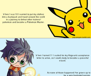 harry potter and pikachu image
