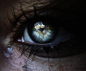eye, photography, and tears image