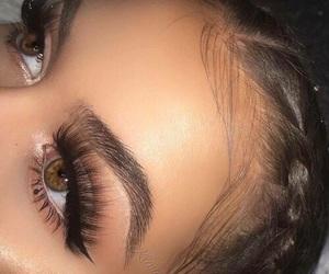 beautiful, makeup, and eyebrows image