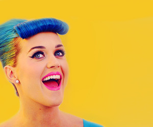 blue, happiness, and katy perry image