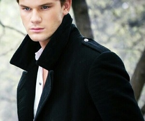 fallen, jeremy irvine, and book image