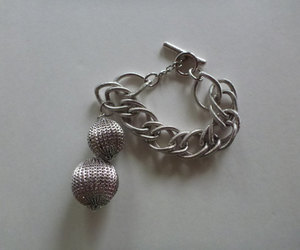 charm bracelet, jewelry, and disco ball image