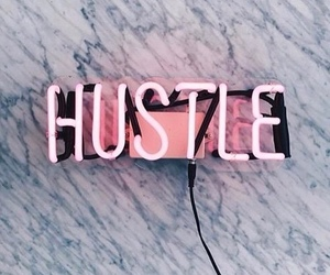 hustle, pink, and light image