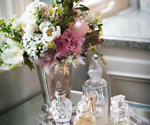 flowers, home, and perfume image