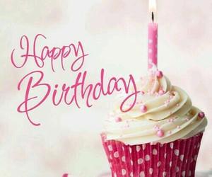 birthday and cupcake image