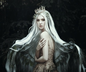 faery, portrait, and sci-fi image