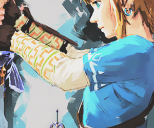 the legend of zelda and breath of the wild image