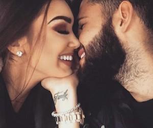 beautiful, couple, and love image