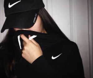 chic, fashion, and nike image