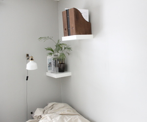 bed, inspo, and minimalism image