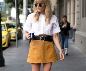 fashion, skirt, and street style image