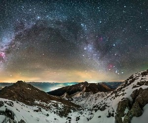 astronomy, astrophotography, and starscape image