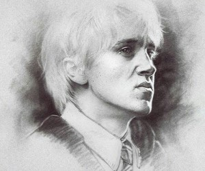 draco malfoy, slytherin, and draco lucius malfoy image