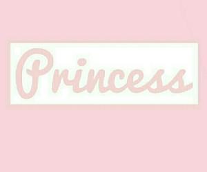 pink and white and princess image