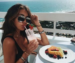 madison beer, summer, and beach image