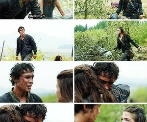 the 100, bellamy, and season 2 image