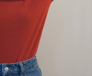 minimalist, Zara, and red image