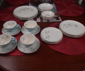 antique, dinnerware, and etsy image