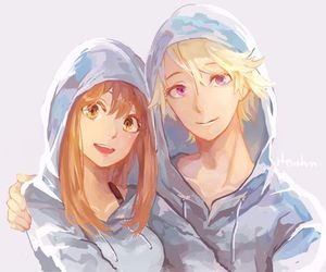 cute, mystic messenger, and anime image