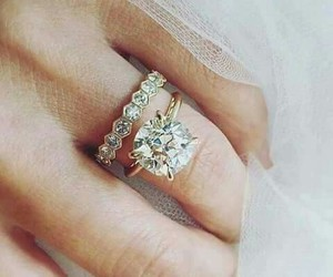 ring, engagement, and jewelry image