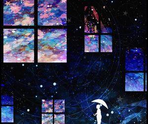 art, fantasy, and galaxy image