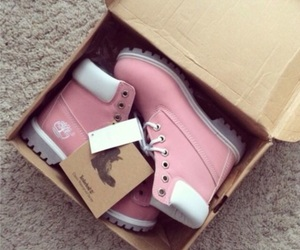 ankle boots, pink, and boots image