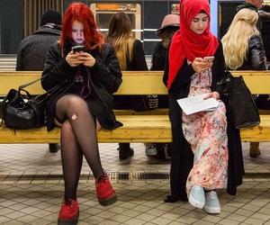 girl and muslim image