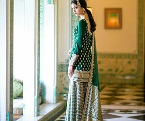fashion, green, and indian image
