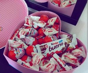 chocolates, gift box, and pink image