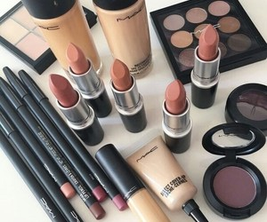 makeup, lipstick, and mac image
