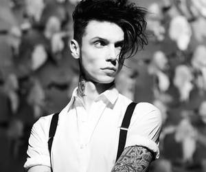 andy biersack, andy black, and bvb image