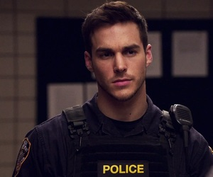 chris wood, police, and Hot image