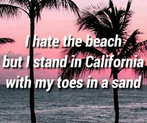 beach, Lyrics, and the neighbourhood image