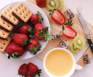 food, Cookies, and fruit image