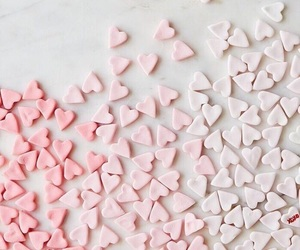 hearts and pink image