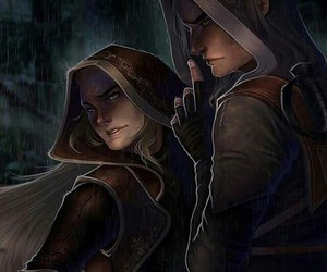 fanart, credits to the artist, and rowan and aelin image