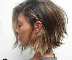 hair, short hair, and short image