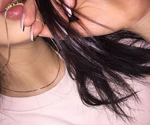 jewellery, lips, and nails image