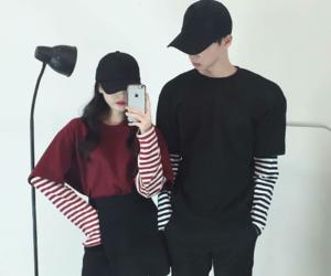 couple, fashion, and kfashion image