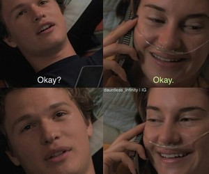 okay, the fault in our stars, and movie image