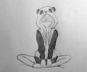 anime, anime girl, and disegno image