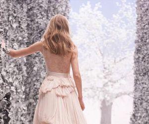 pink, dress, and Nina Ricci image