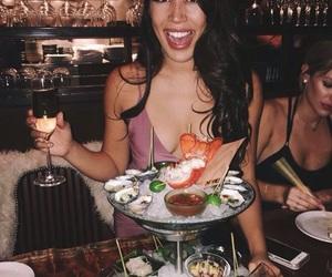 beautiful, birthday girl, and dinner image
