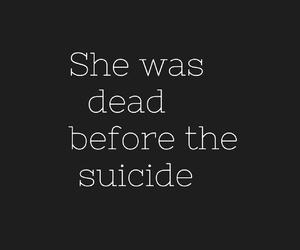 black, depression, and girl image