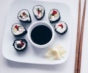 diy, food, and sushi image