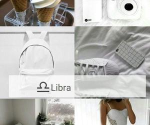 Libra and white image