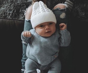 fashion, baby, and outfit image