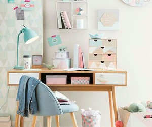 room, decor, and pastel image